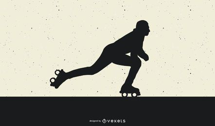 Vetor de patins 1