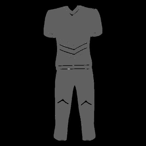Men's cheerleader uniform cut-out