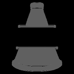Recorte de megáfono de porristas
