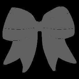 Ribbon cheerleader uniform cut-out