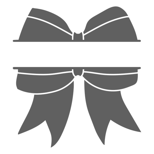 Cheerleader ribbon uniform cut-out