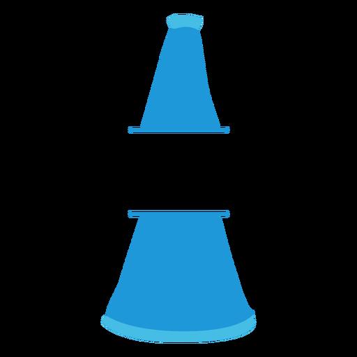 Cone megaphone flat