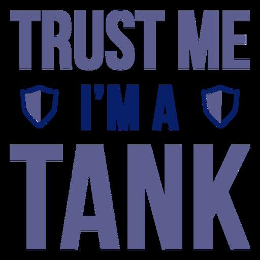 Insignia de cotización del tanque Transparent PNG