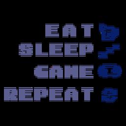 Gamer routine badge
