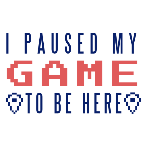 Game paused badge