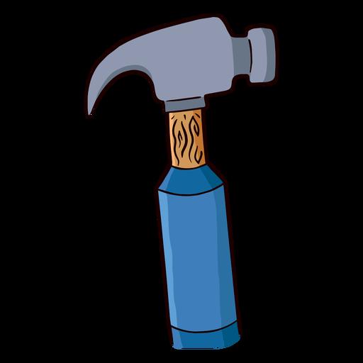 Tool hammer flat