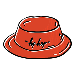 Hip-hop hat color-stroke