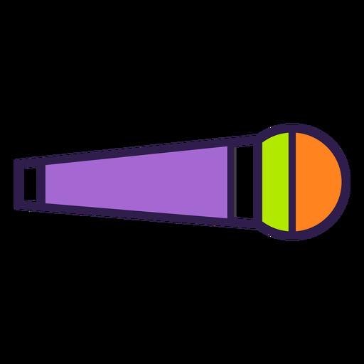 Colorful mic flat