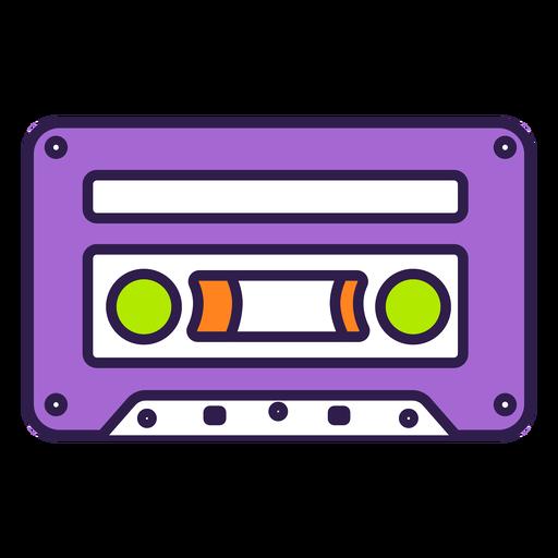 Retro cassette flat