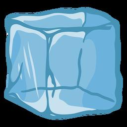 Illustration ice cube