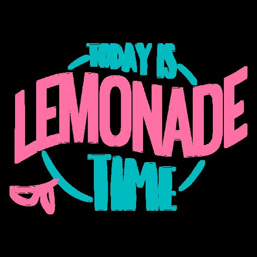 Letras de tiempo de limonada Transparent PNG