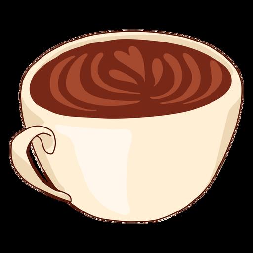 Ilustração do copo de café