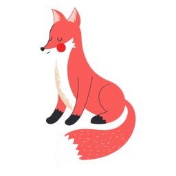 Lovely fox flat