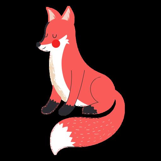 Lovely fox flat