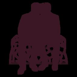 Gay couple romance silhouette