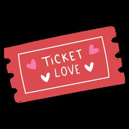 Ticket love flat