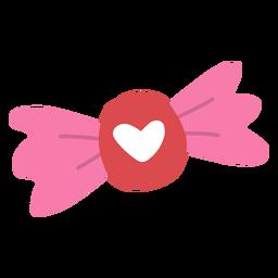 Heart candy flat