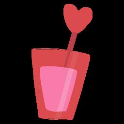 Pink drink flat