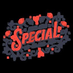 Letras especiais para mim
