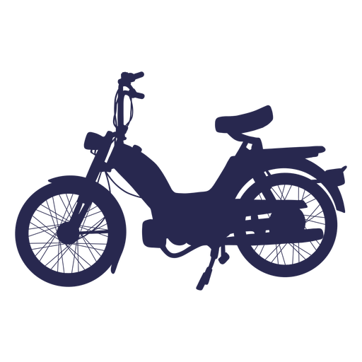 Cool motorcycle silhouette