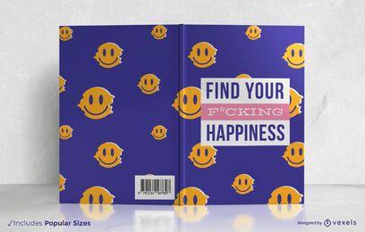 Encontre o design da capa do seu livro de felicidade