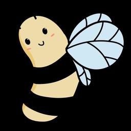Ilustración de abeja linda