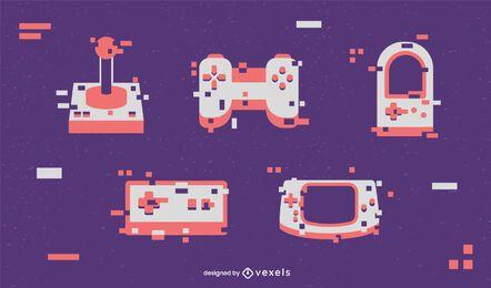 Conjunto de elementos do jogador