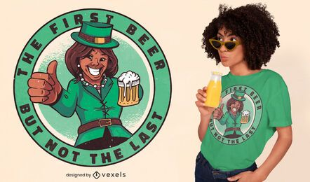 St Patricks Kamala Harris T-Shirt Design