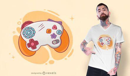 Design de t-shirt com joystick de bebê