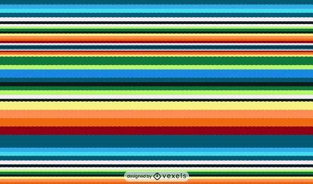 Desenho de padrão mexicano Serape