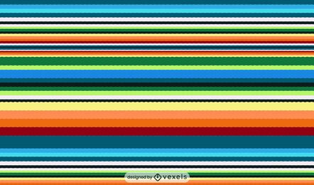 Serape mexican pattern design