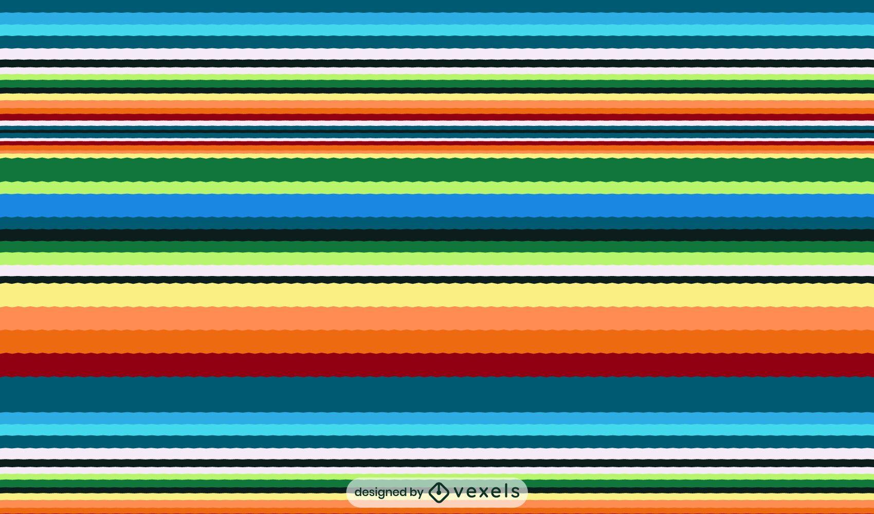 Serape mexican pattern design