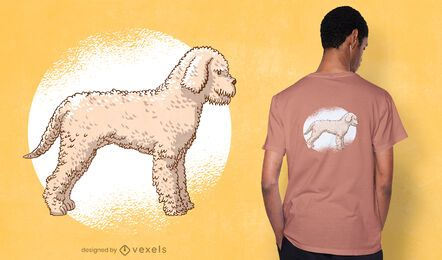Cute poodle t-shirt design