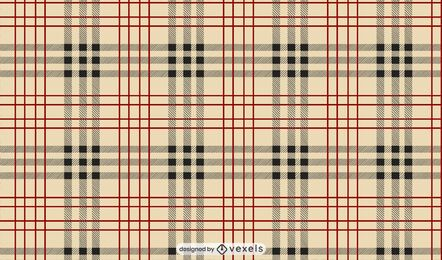 Burberry check pattern design