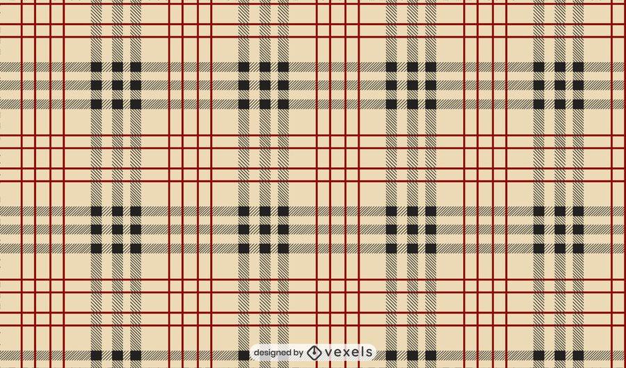 Burberry check pattern design