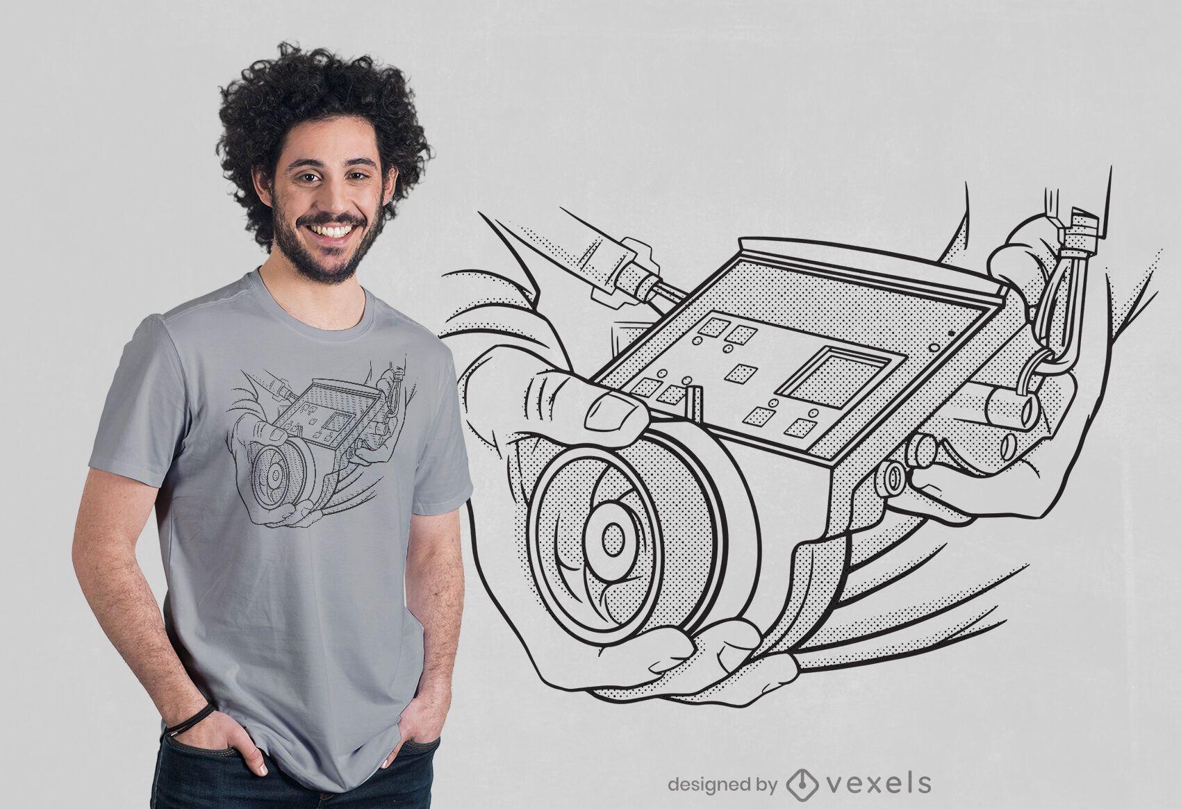 Dise?o de camiseta Focus Puller