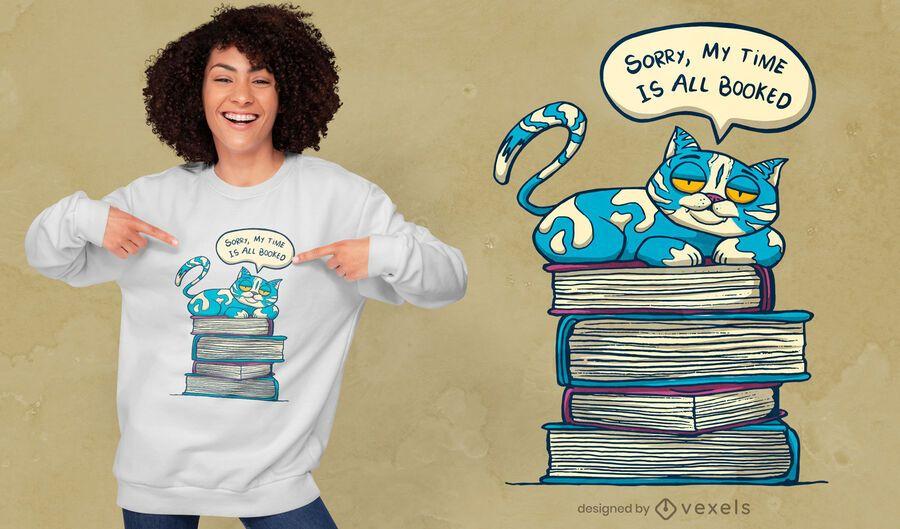 Meine Zeit ist T-Shirt Design gebucht