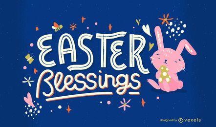 Letras de bênção da Páscoa