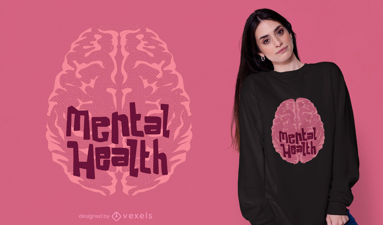 Mental health t-shirt design