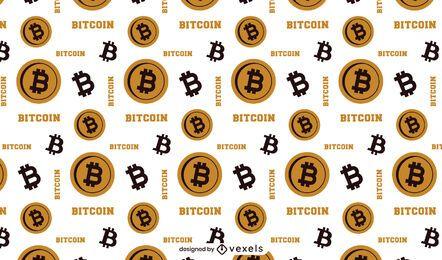 Diseño de patrón de Bitcoin