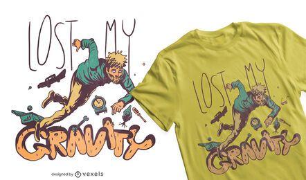 Schwerkraft-T-Shirt Design
