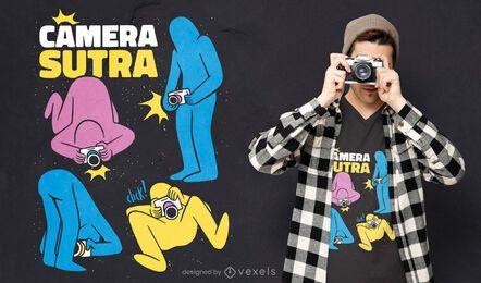 Kamera Sutra T-Shirt Design