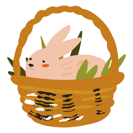 Basket bunny flat