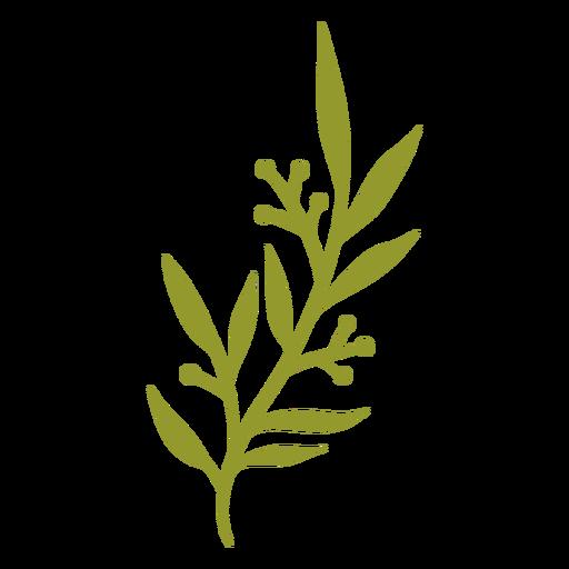 Flat green vegetation