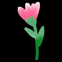 Tulipán rosa acuarela