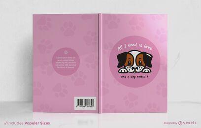 Tudo que eu preciso é adorar o design da capa do livro
