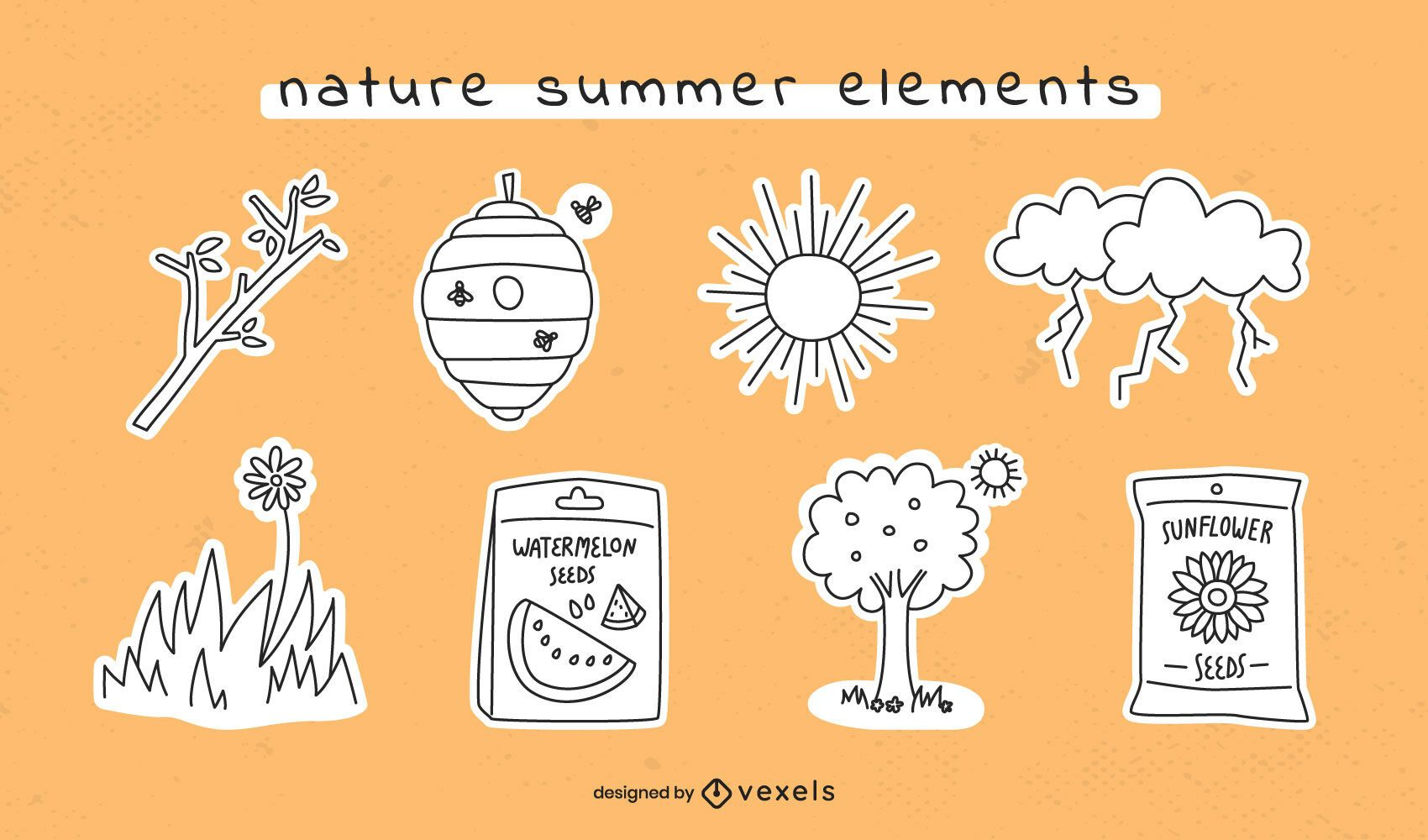 Summer elements stroke