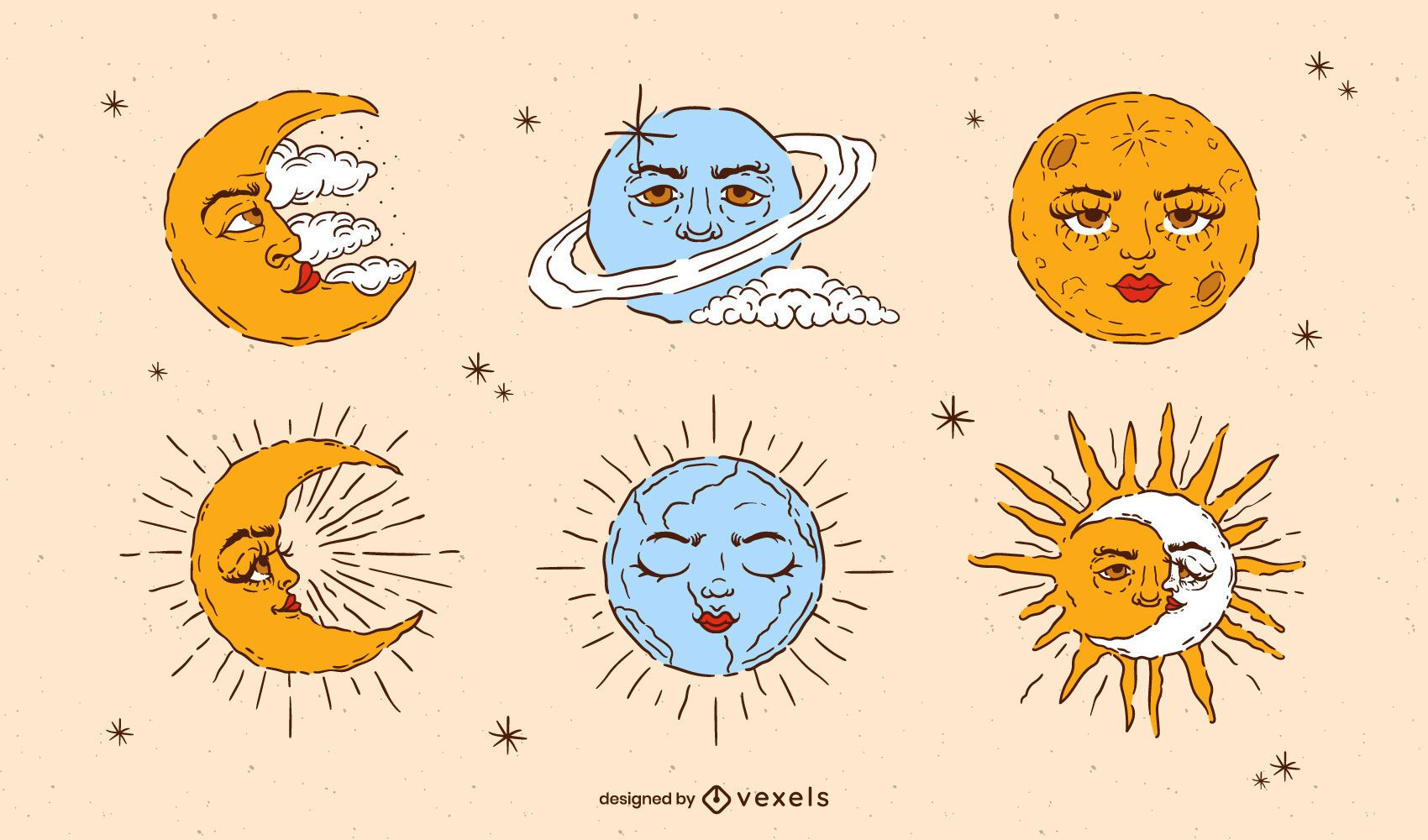 Conjunto de elementos astronómicos