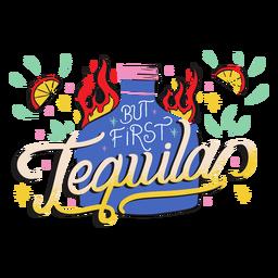 Primera insignia de tequila