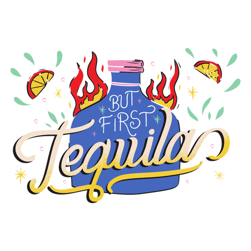 First tequila badge